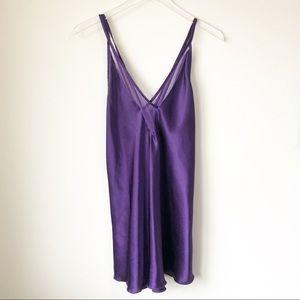Vintage | Purple silky nightie